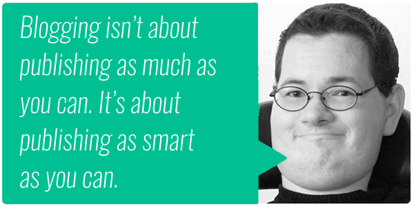 Jon Morrow on Blogging