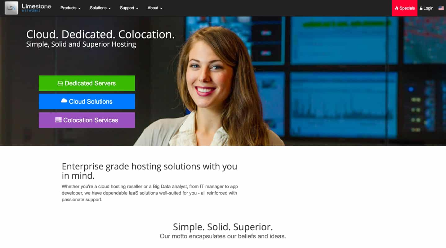 Limestone Networks web hosting review