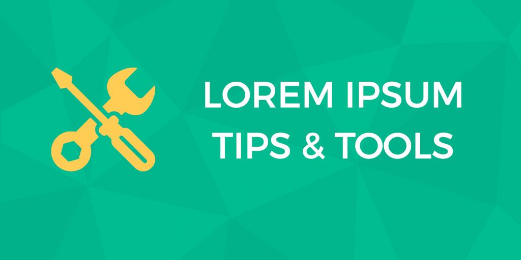 lorem ipsum generators