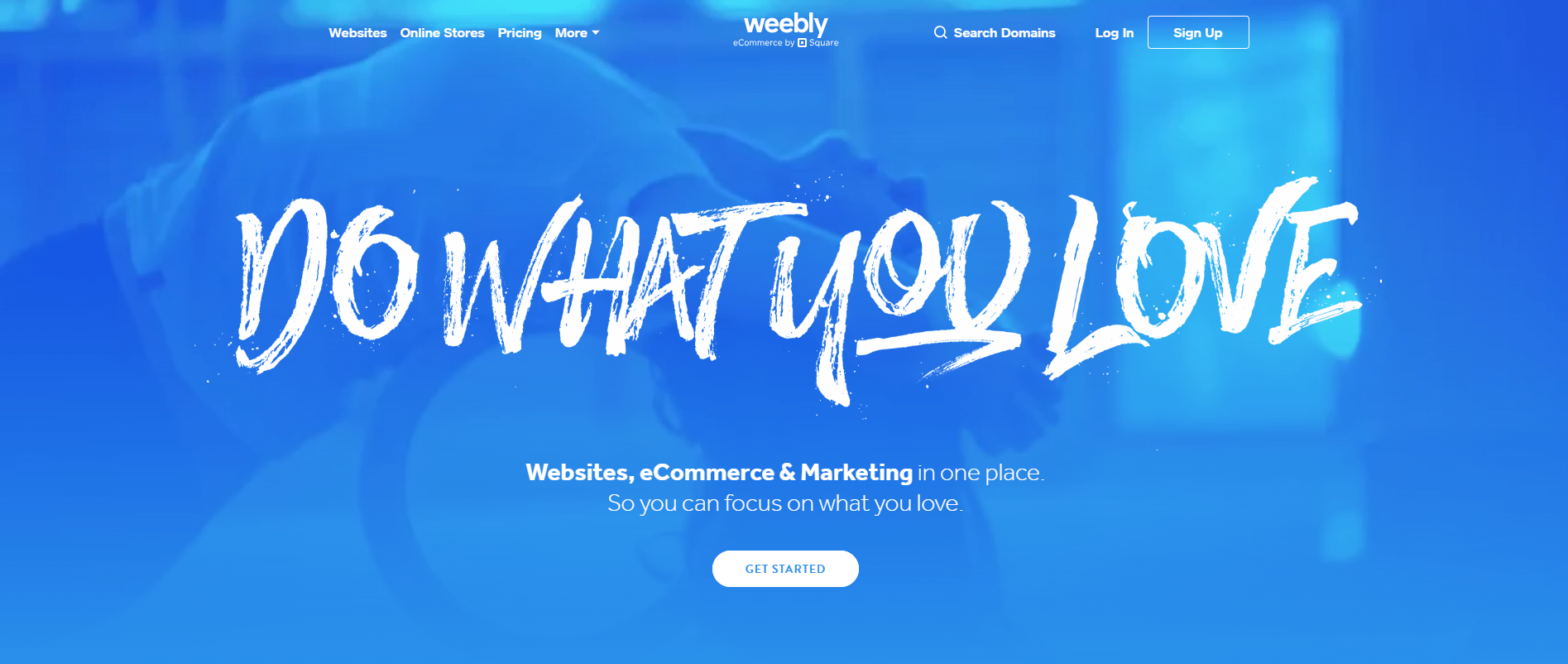 Weebly Landing Page