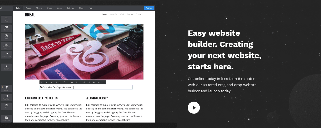 Lunarpages Website Builder