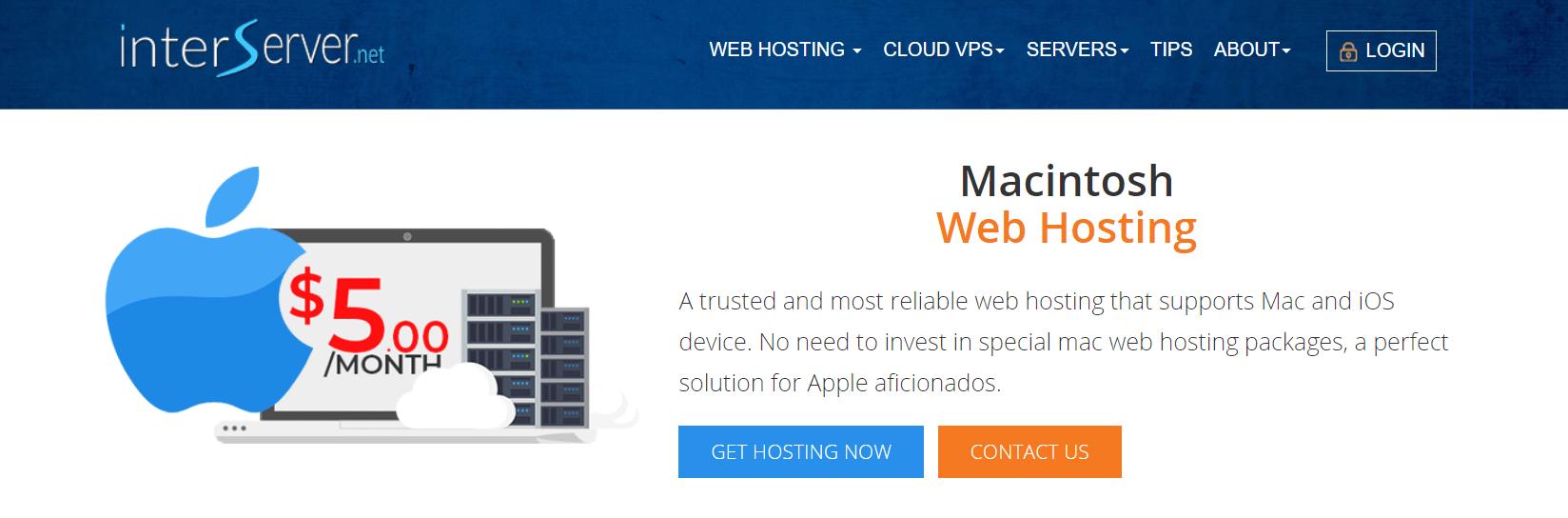 interserver mac hosting