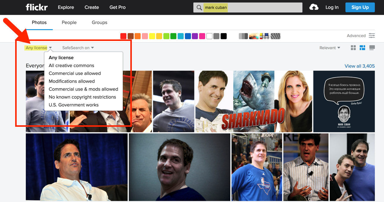 mark cuban flickr