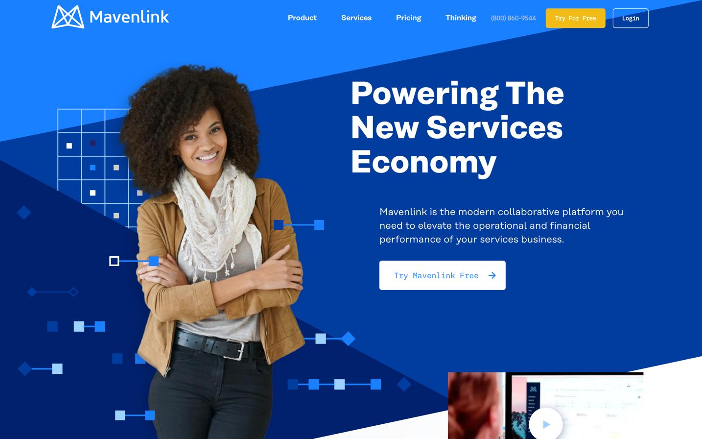 mavenlink homepage