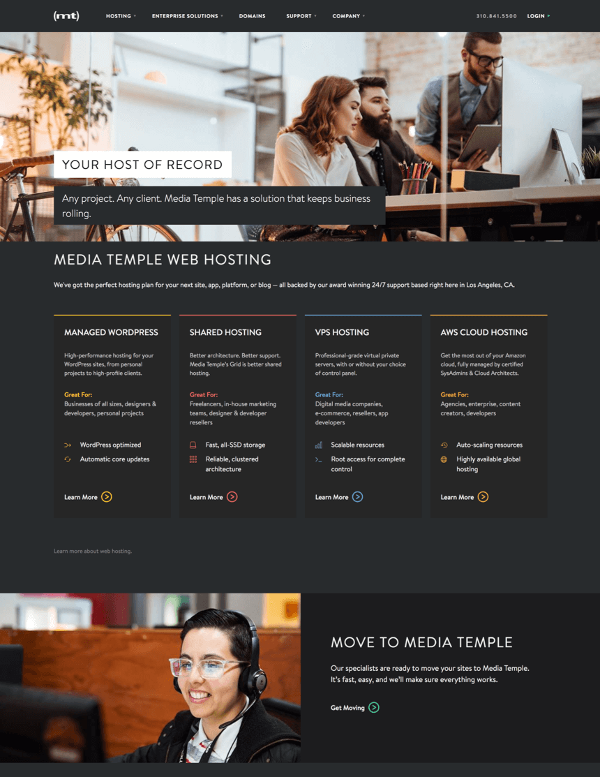 media-temple-homepage