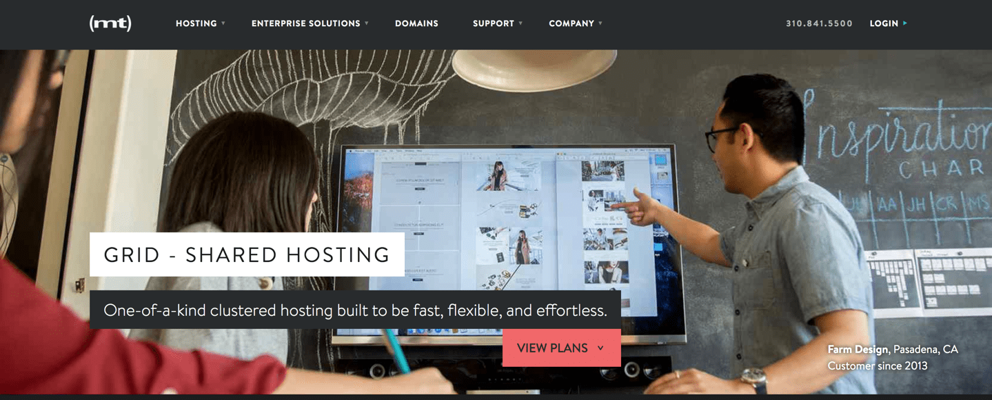 media temple shared hosting