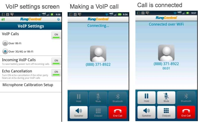 mobile app ringcentral