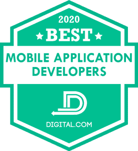 Best Mobile Application Developer Companies of 2020 Badge