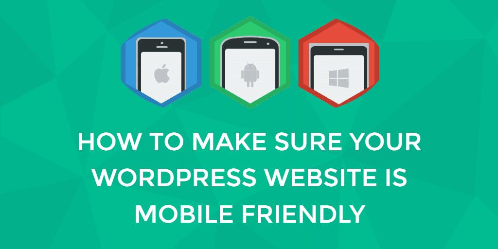 Mobile Optimized WordPress Website