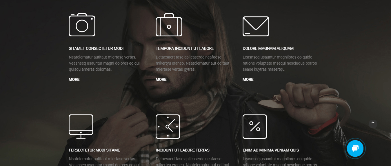 MotoCMS Photographer's Portfolio Theme