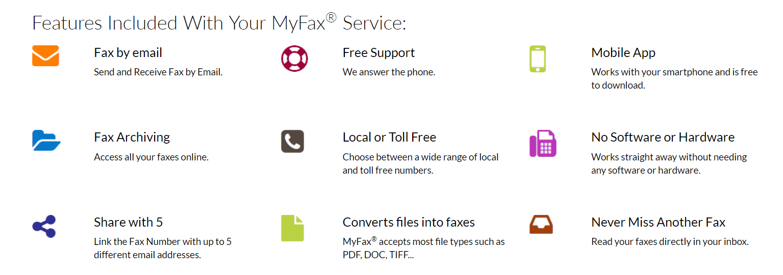 myfax online fax service