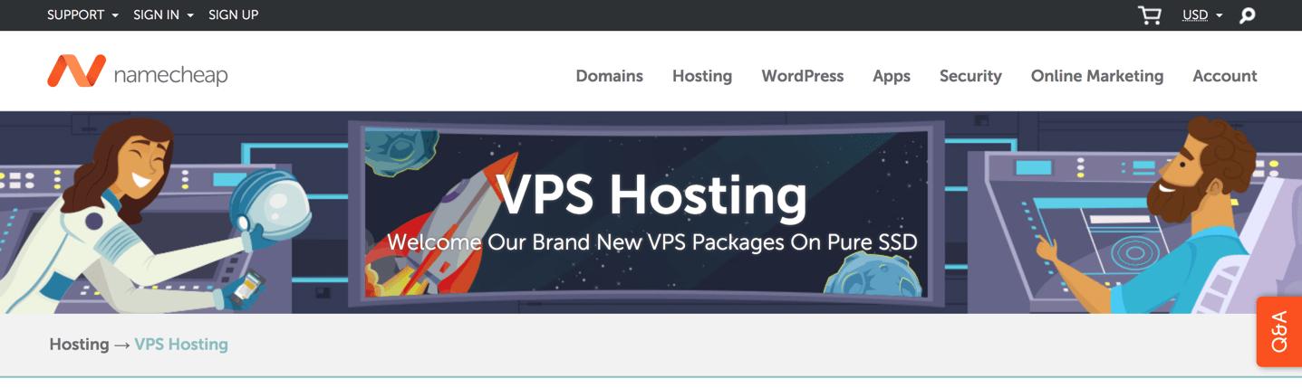 namecheap vps hosting