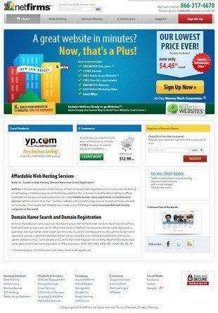Netfirms reviews