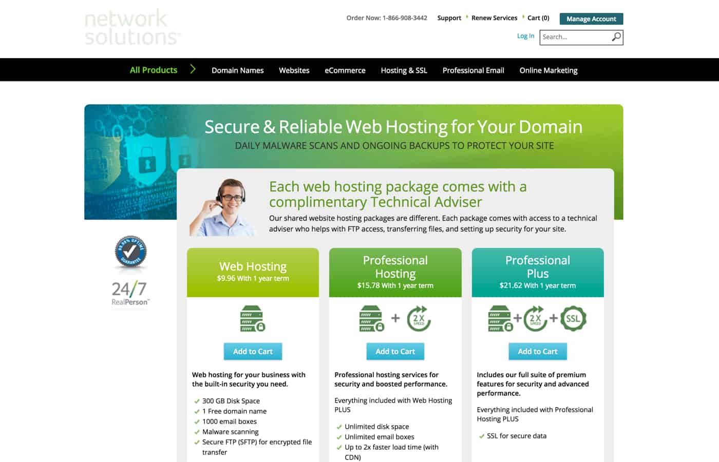 Network Solutions review