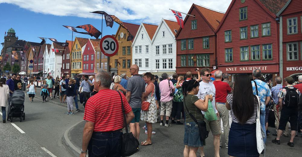 Bergen, Norway Fish Market