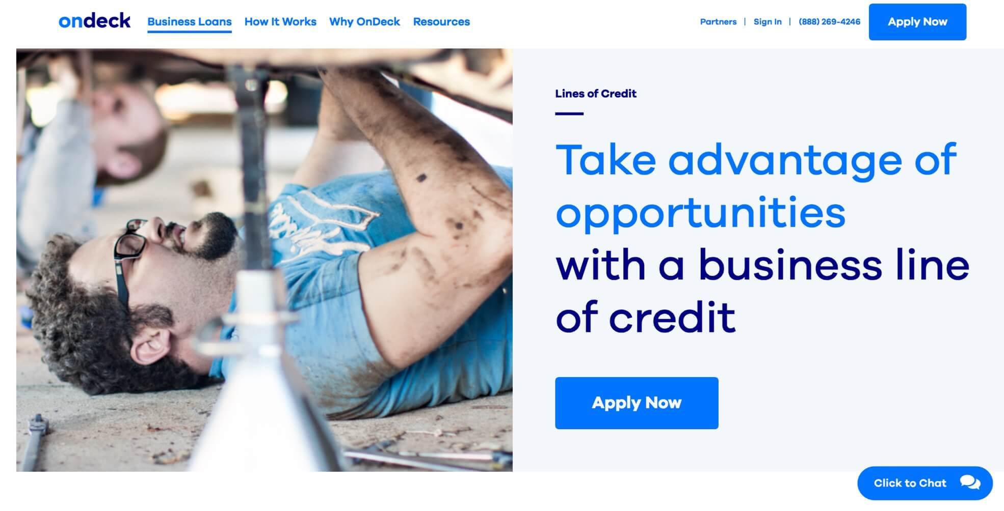 OnDeck business line of credit