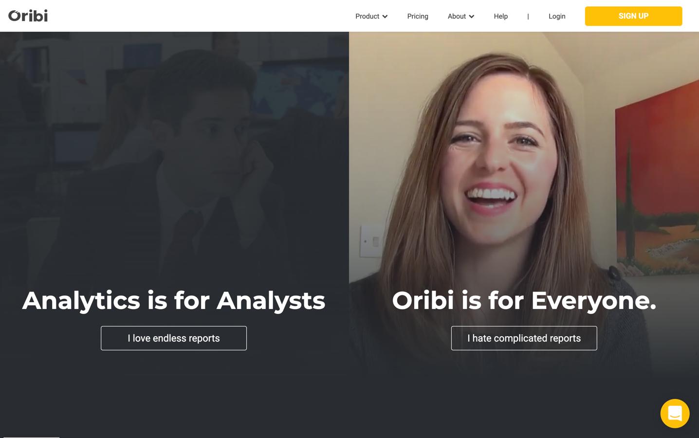 oribi homepage