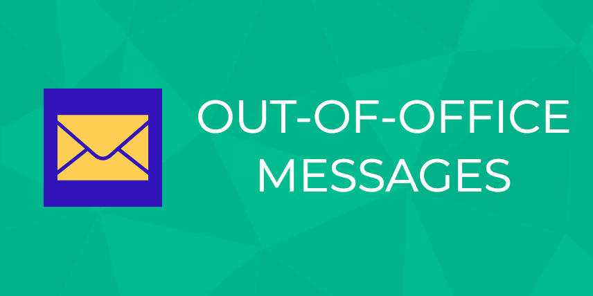 out of office messages