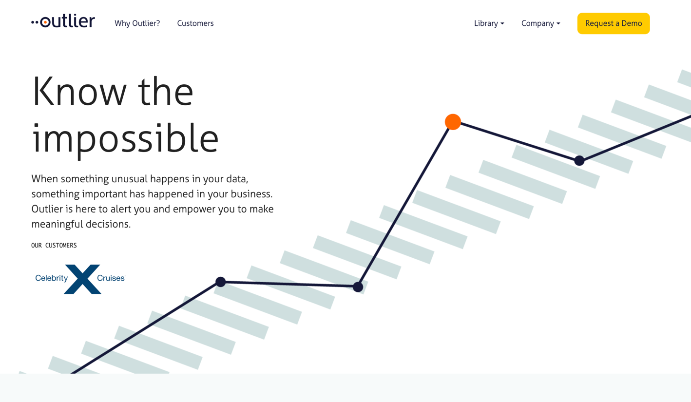 outlier homepage