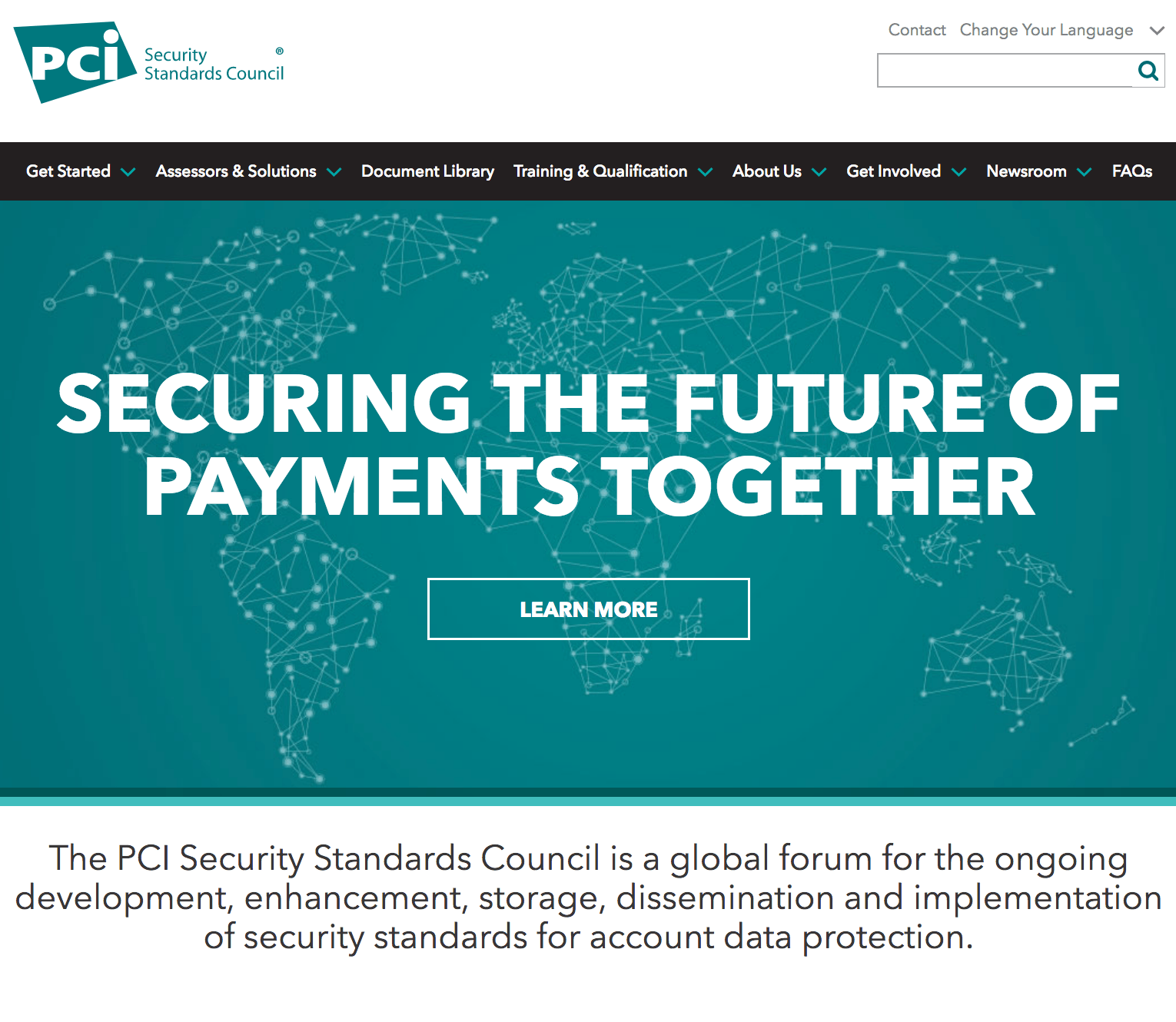 PCI Security Standards Council Homepage