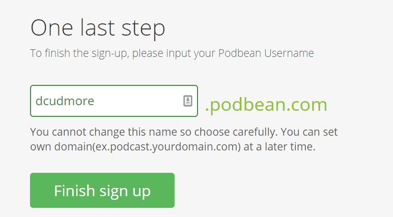 Podbean Default Domain
