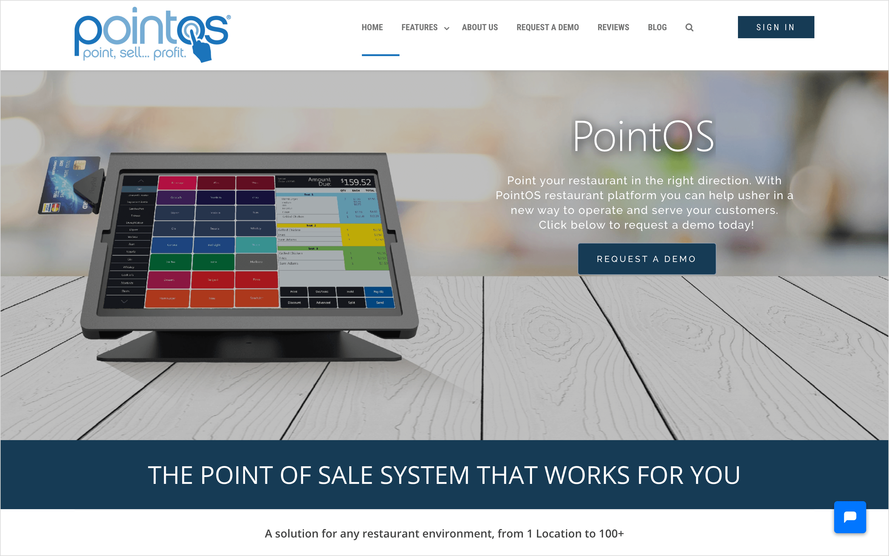pointos homepage