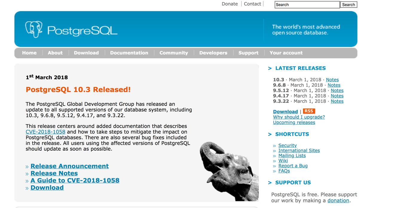 postgresql-website