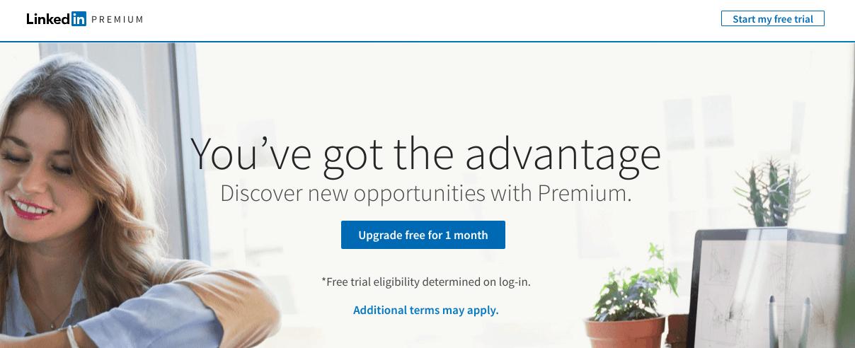 Linkedin Premium Screenshot