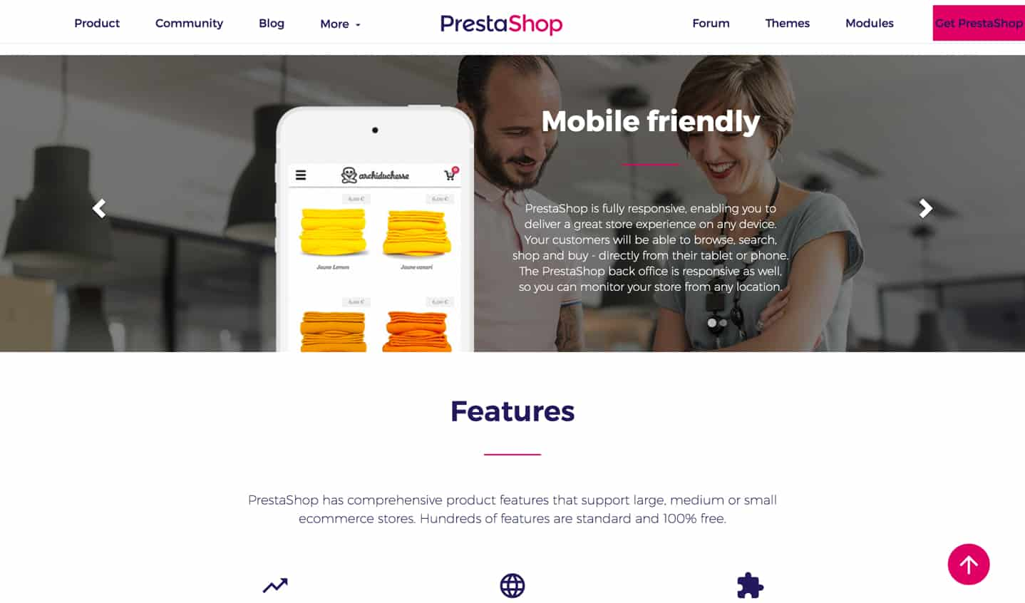 prestashop e-commerce builder review