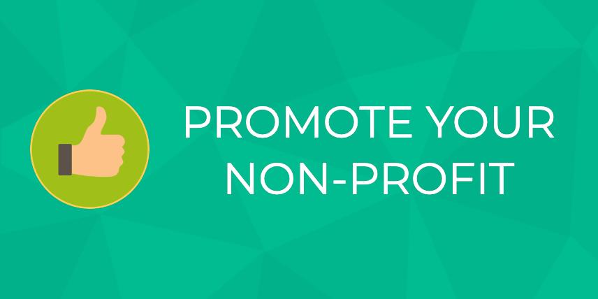promote your nonprofit