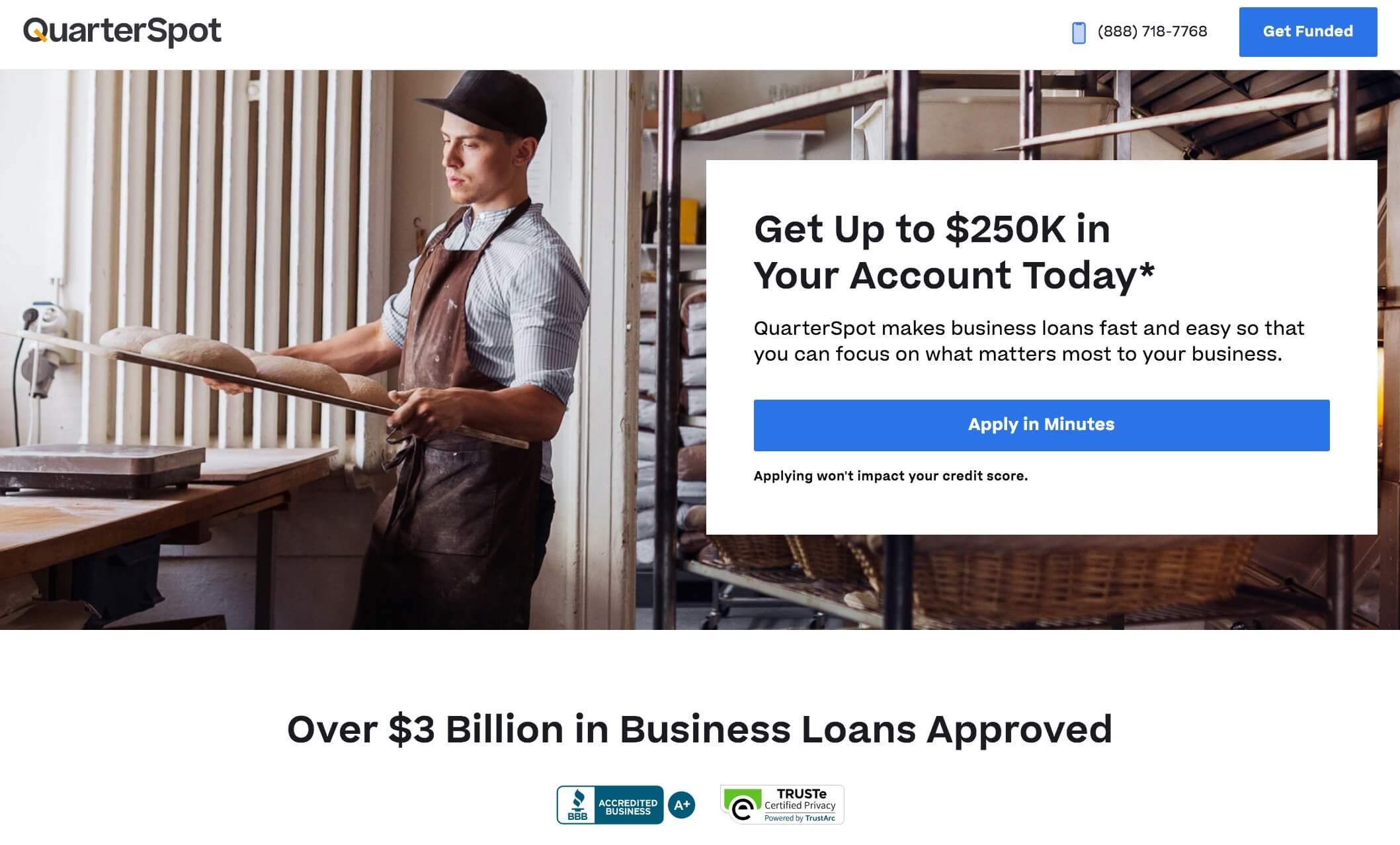 quarterspot loans