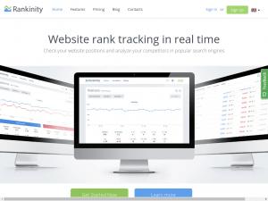 Rankinity homepage