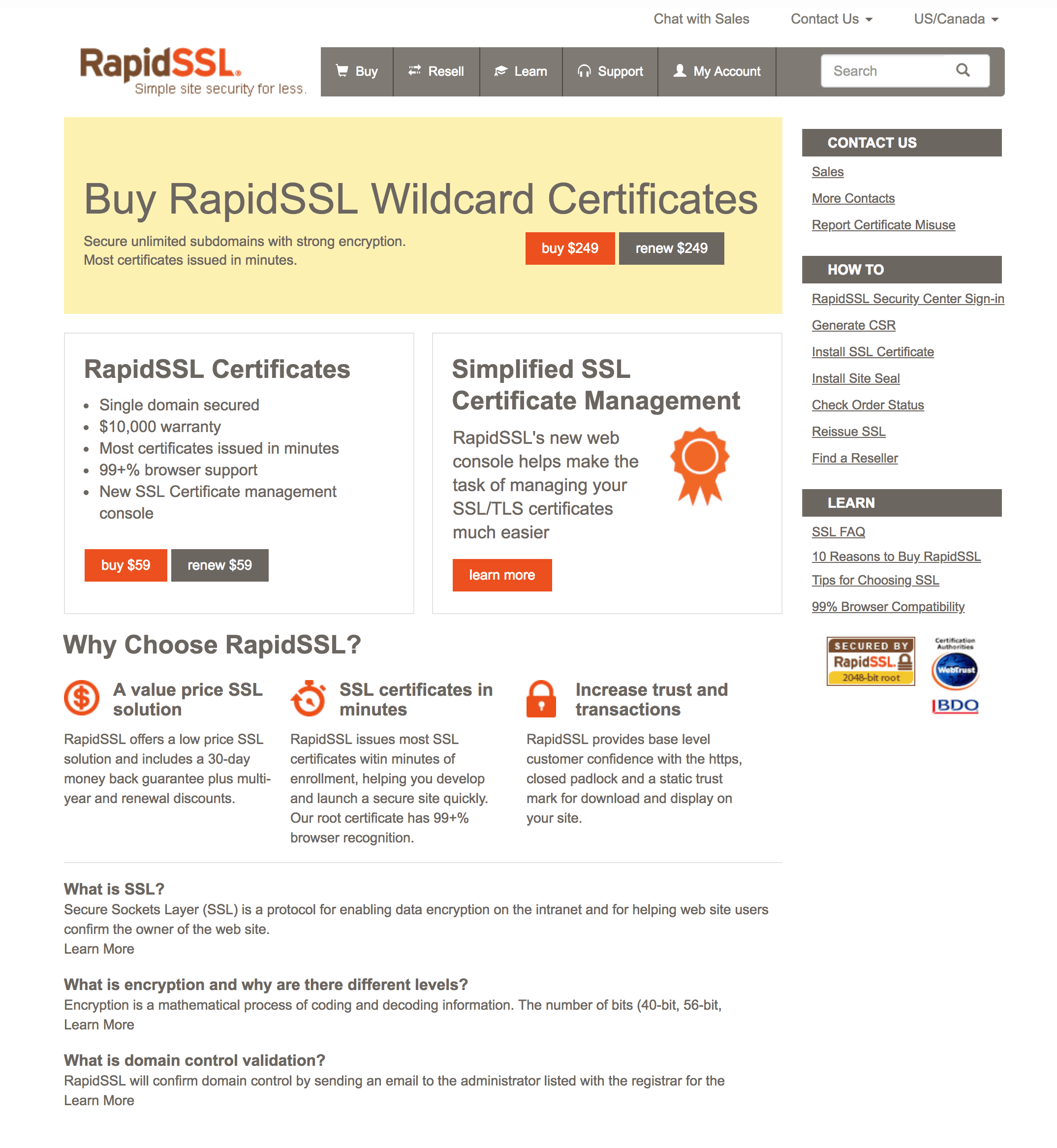 Rapidssl Review Feb 2019 Should You Get Their Ssl Cert Or Not