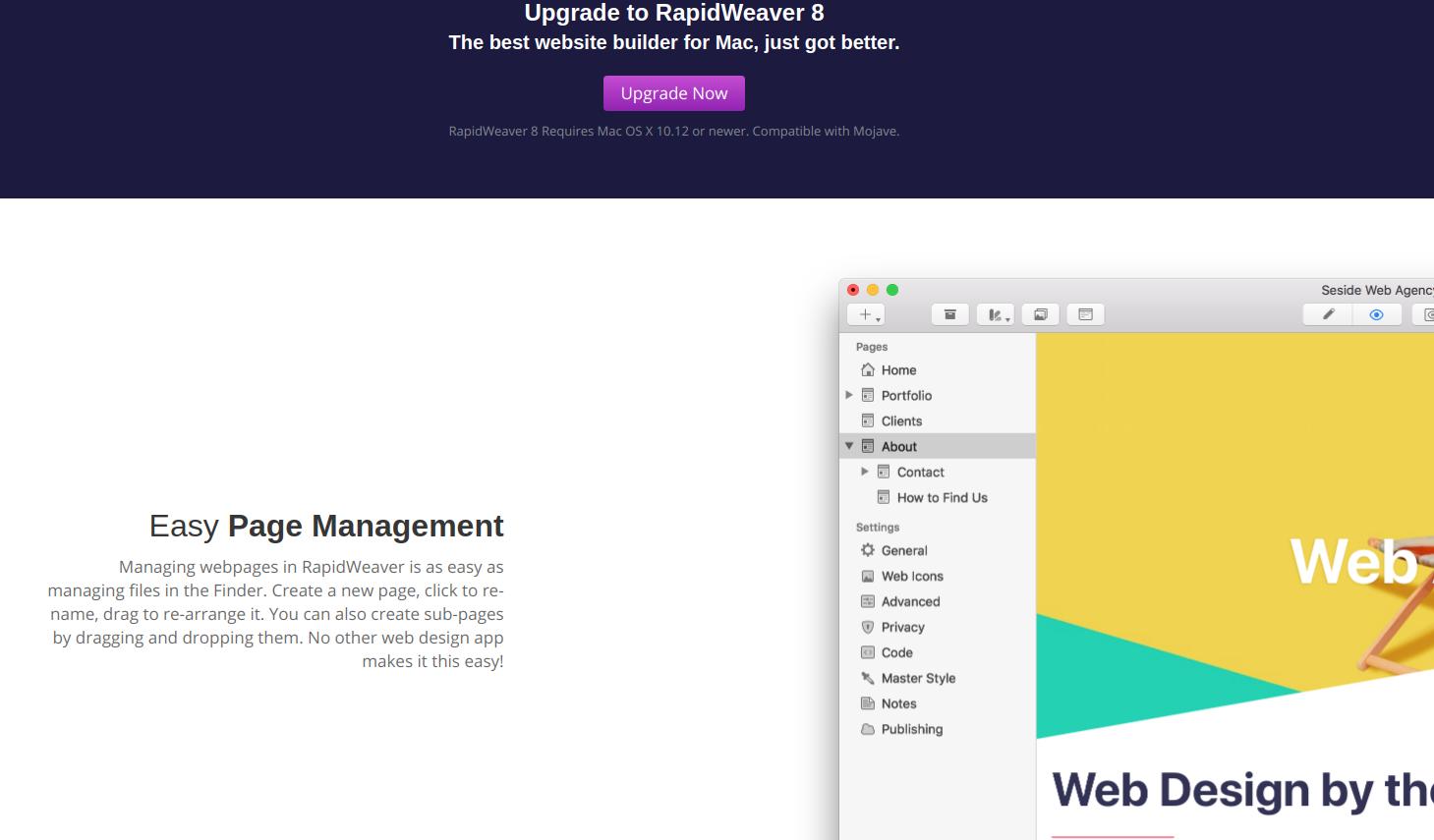 rapidweaver homepage