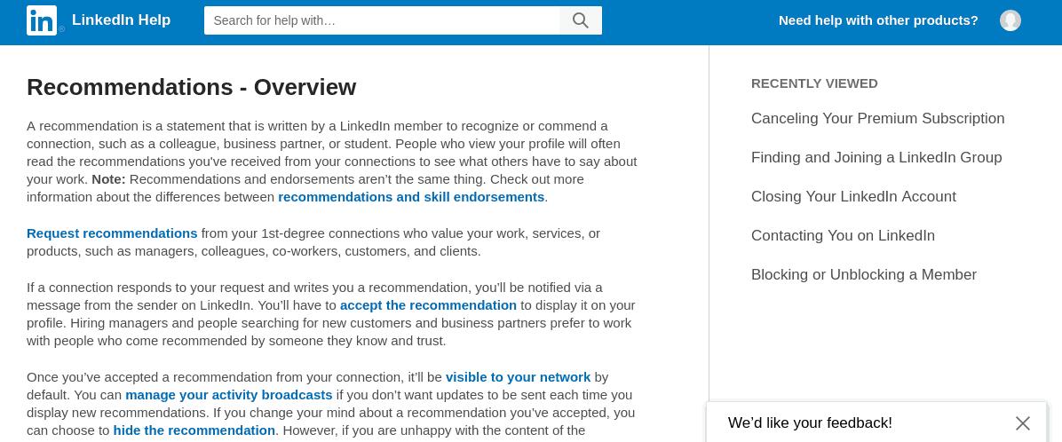 Recommendation_linkedin