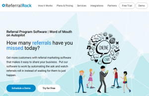 referralrock homepage