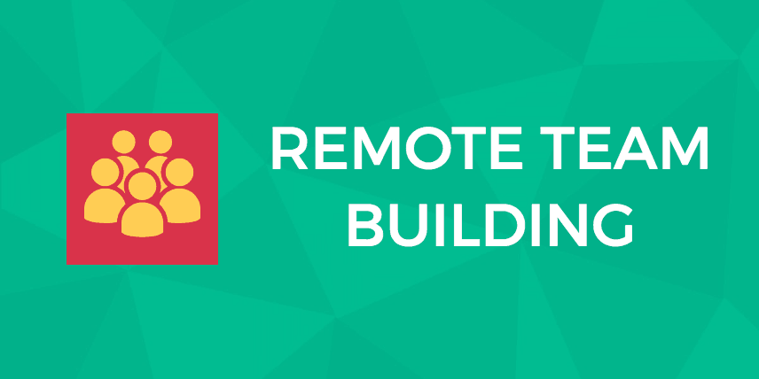 remote team building