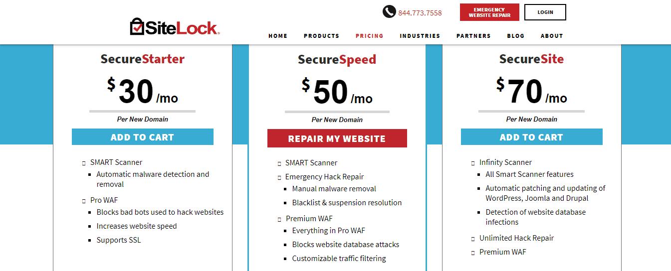 ServInt SiteLock