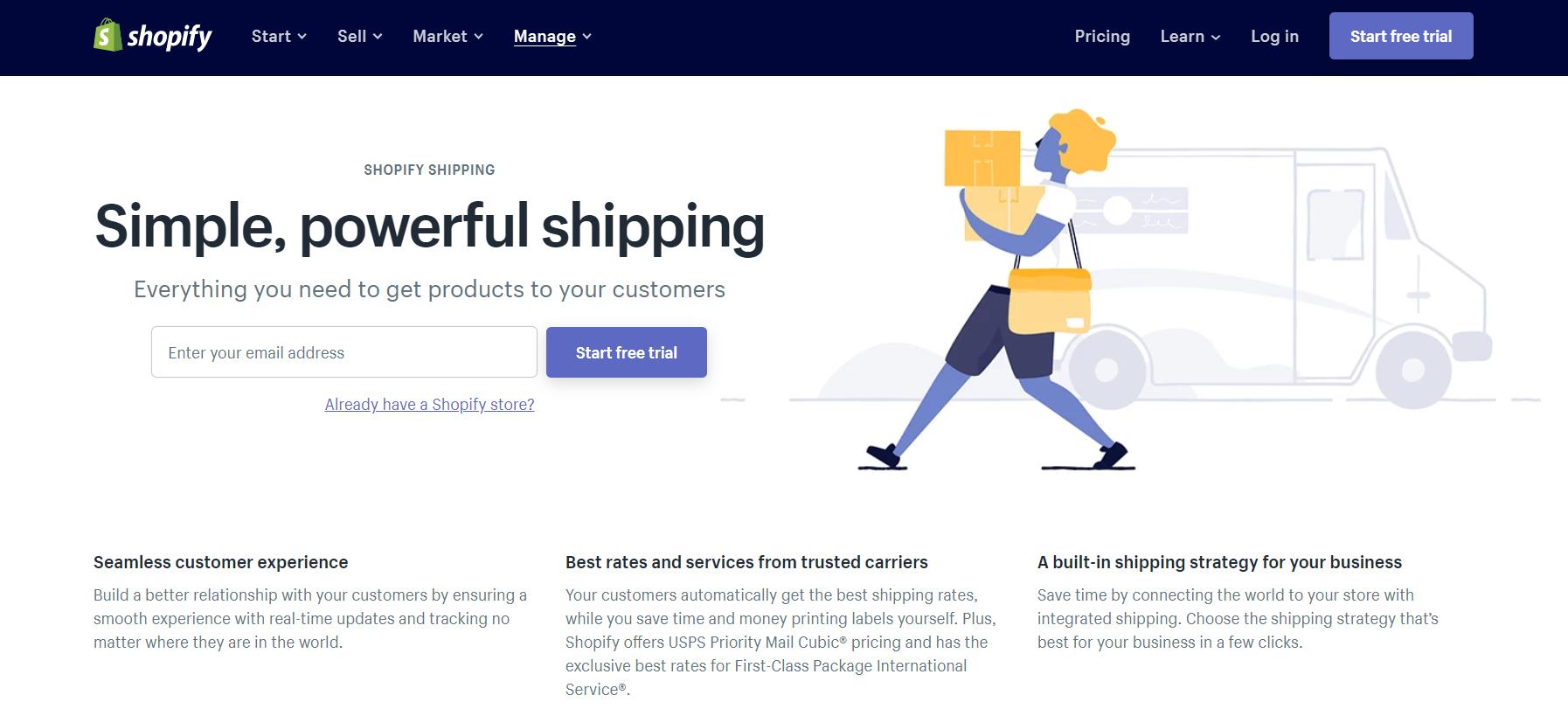 shopify shipping software