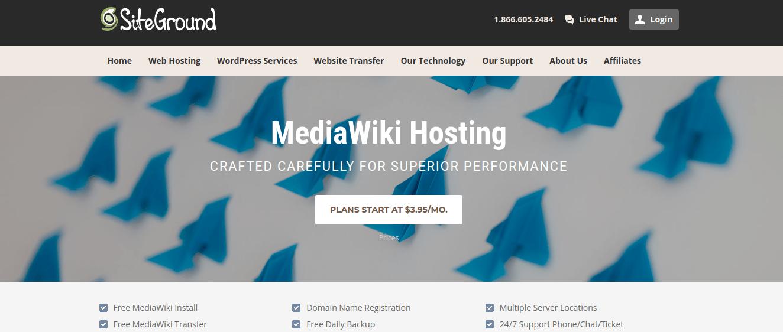 Siteground MediaWiki Hosting