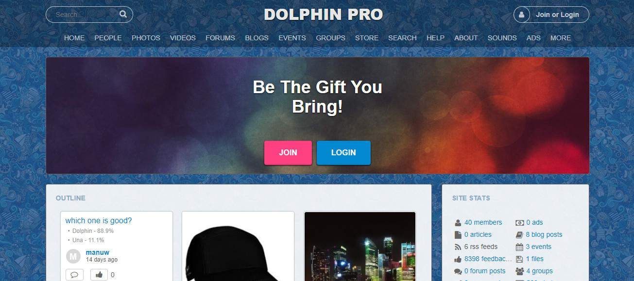 Dolphin User Interface