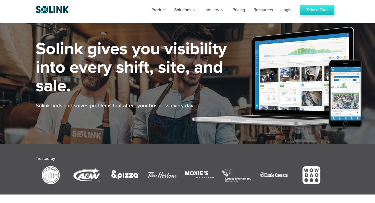 solink homepage