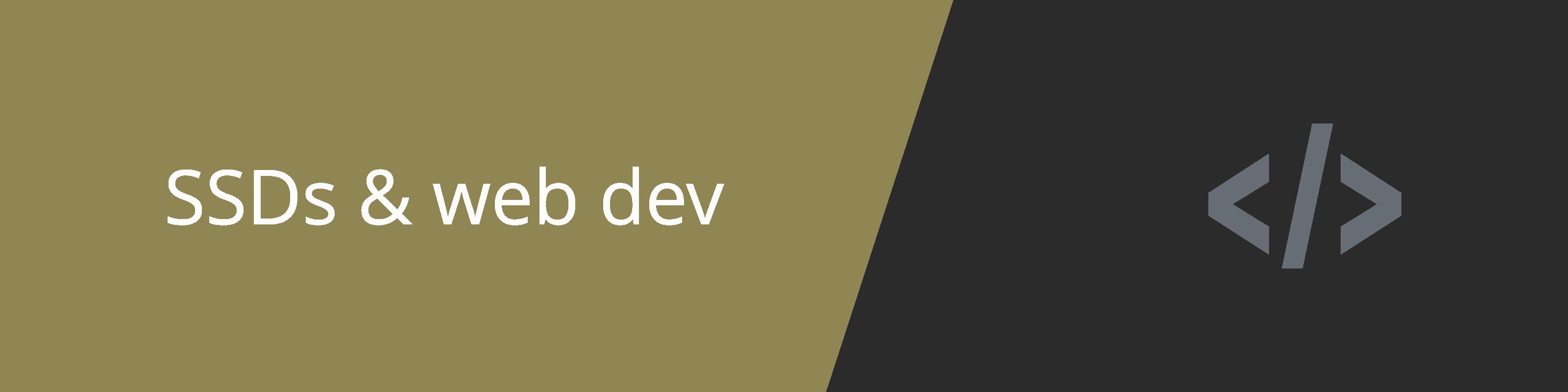 ssd web dev