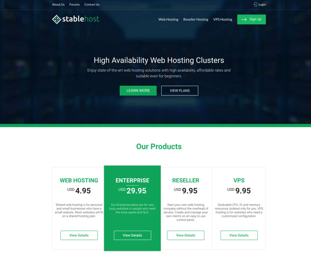 StableHost review