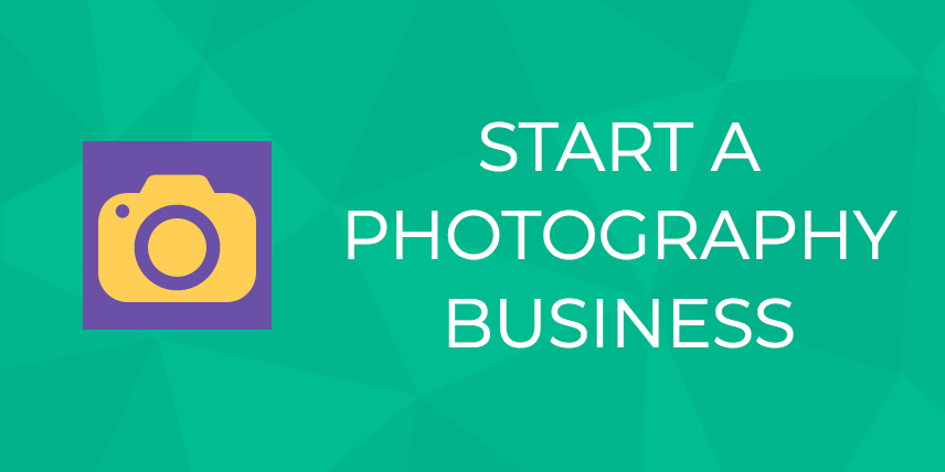 start photography business
