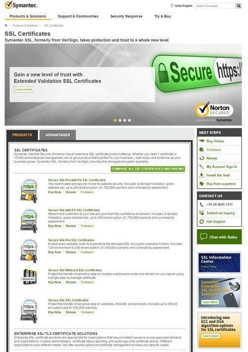Symantec SSL reviews