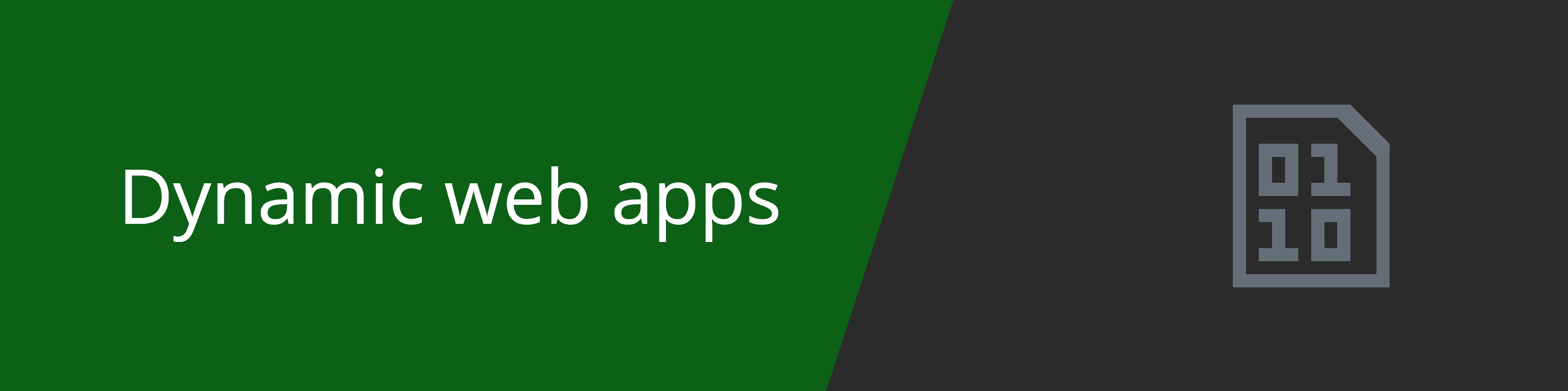 dynamic web apps