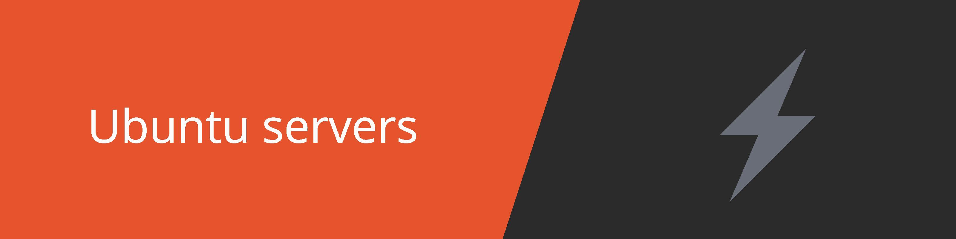 ubuntu servers