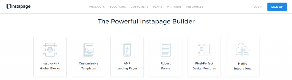 Instapages Alternative to Unbounce