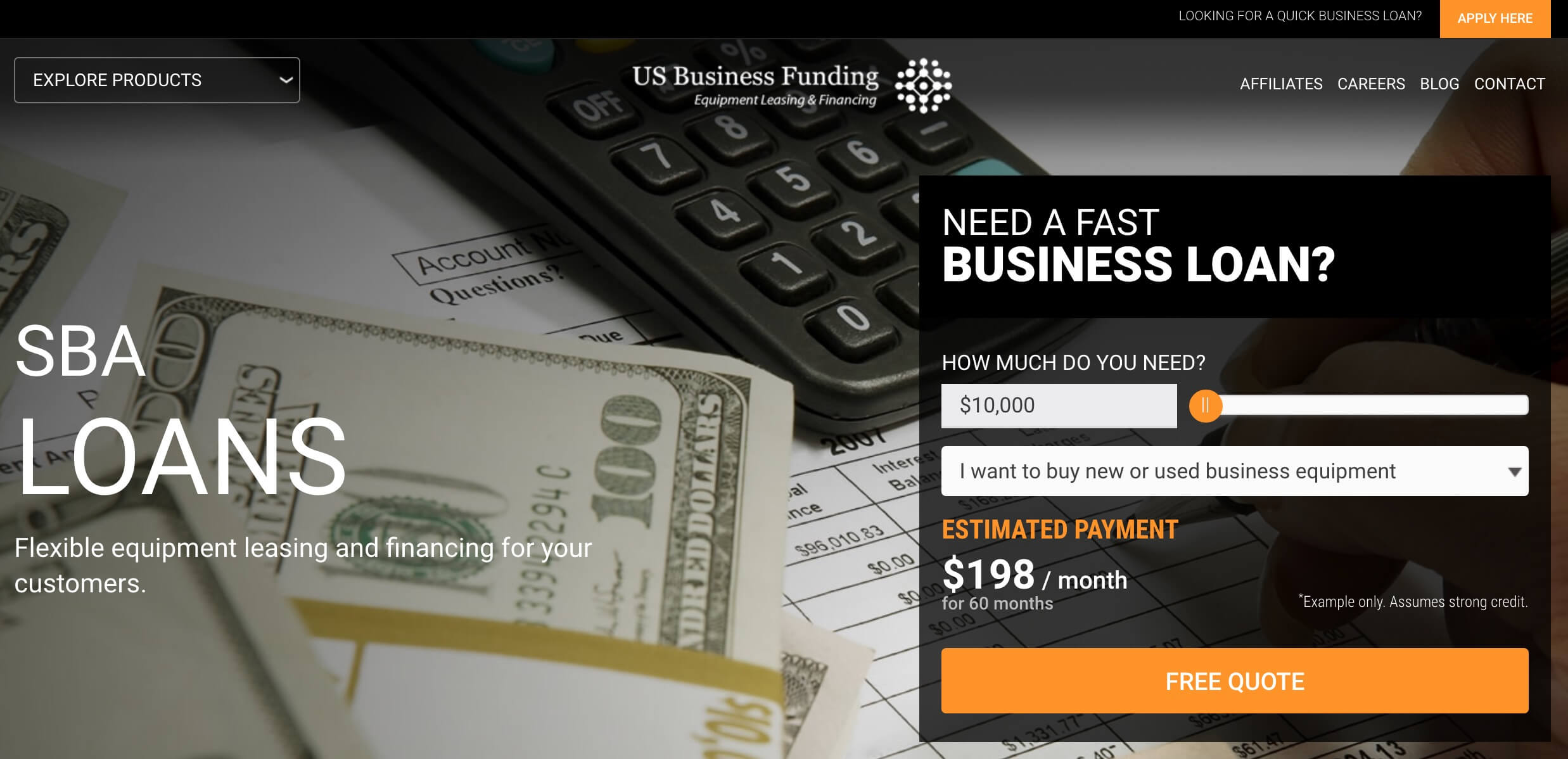 us business funding loans